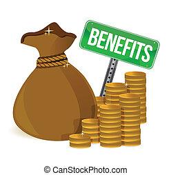 borsa, benefici