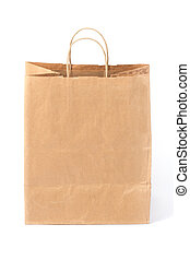 borsa, carta, shopping