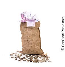 borsa, molto, soldi