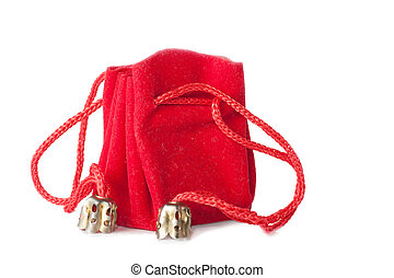 borsa, poco, rosso