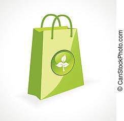 borsa, simbolo, ecologia, verde