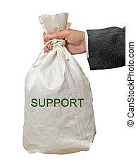 borsa, sostegno