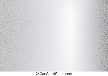 borstat, vektor, metall, ark