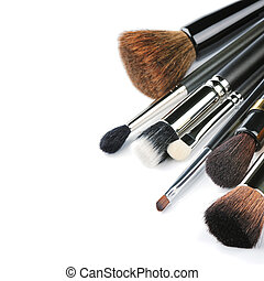 borstels, gevarieerd, makeup