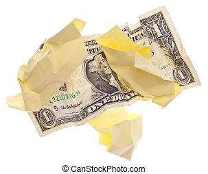 bort slängande pengar