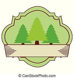 bos, buiten, kamp