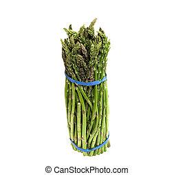 bos van, fris, asperges