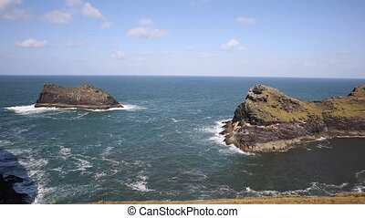 Boscastle coast North Cornwall