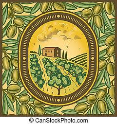 boschetto olivastro