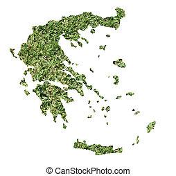 Bosnia and Herzegovina environmental map - Map of Bosnia and...