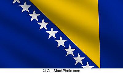Bosnia and Herzegovina Flag - Flag of Bosnia and Herzegovina