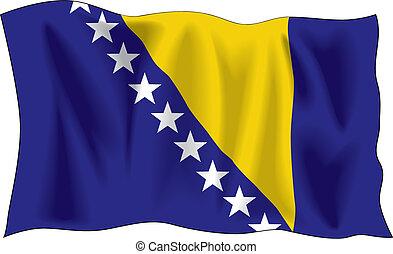 bosnio, bandera