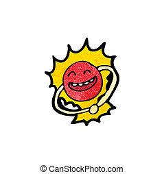 boson, 漫画, 微片, higgs