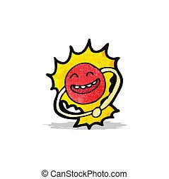 boson, cartone animato, particella, higgs