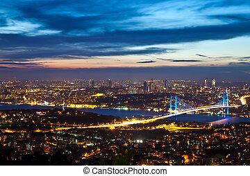 Bosphorus Bridge 1 - Bosphorus Bridge at the night