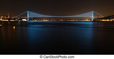 Bosphorus Bridge from Istanbul