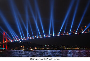 bosphorus bridge istanbul - turkey