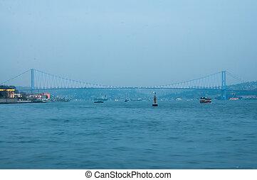 Bosphorus Bridge Night