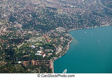 Bosphorus coastline of Istanbul - Asian side