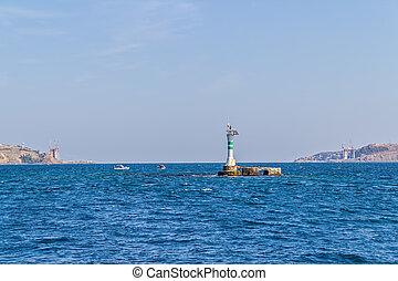 Bosphorus lighthouse