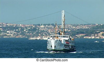 Bosphorus ship