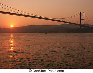 Bosporus bridge at