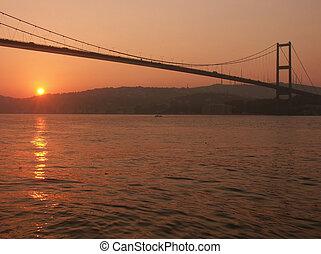 Bosporus bridge at