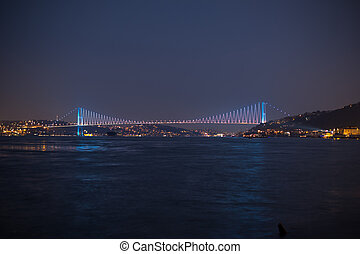 Bosporus Bridge at the istanbul Turkey