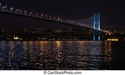 bosporus bridge - Bosporus Bridge at istanbul Turkey