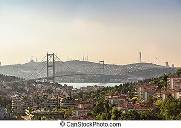 Bosporus bridge in Istanbul