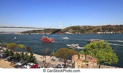 Bosporus view in Springtime.