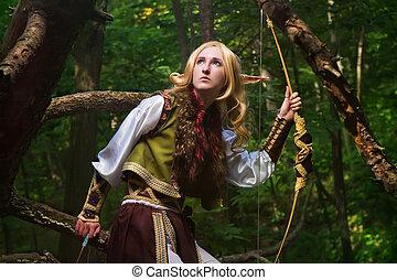 bosque, duende