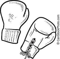 bosquejo, boxeo