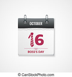 boss day calendar background - boss day calendar celebration...