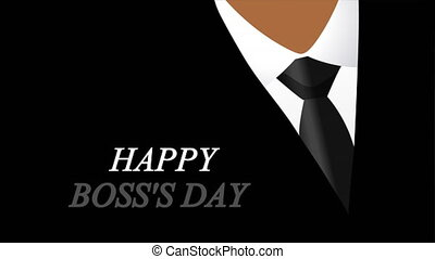 boss day with jacket and tie background - Boss day with ...