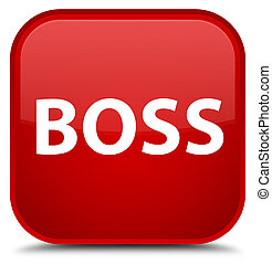 Boss special red square button