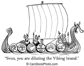 "Boss Viking did not approve of an ad on ship - ""Sven I don't..."