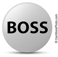 Boss white round button