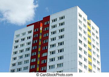 bostads, byggnad