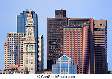 Boston architecture closeup