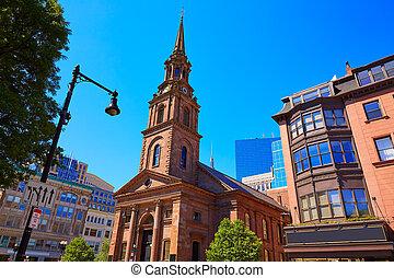 Boston Arlington Street Church in Massachusetts
