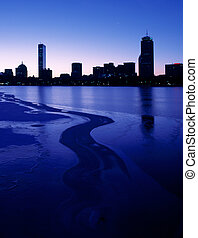 Boston Back Bay at dawn