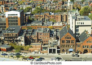 Boston Back Bay Neighborhood