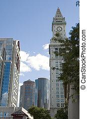Boston blue skylines
