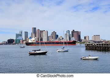 Boston City morning