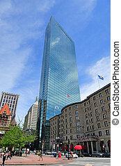 Boston city street