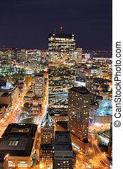 boston, cityscape