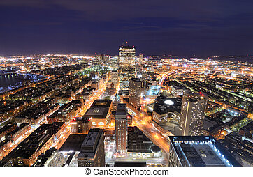 boston, cityscape