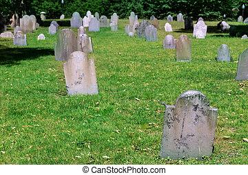 Boston Common Central Burying Ground