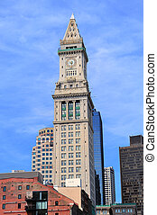 Boston Custom House Clock Tower